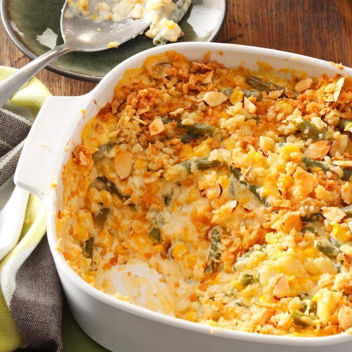 Nebraska: Company Vegetable Casserole