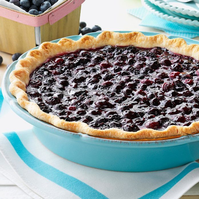 Contest-Winning Fresh Blueberry Pie