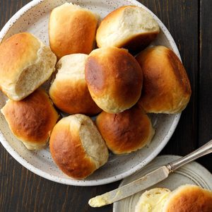 Contest-Winning Potato Pan Rolls