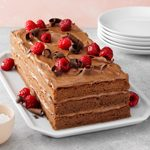 Contest-Winning Raspberry Chocolate Torte