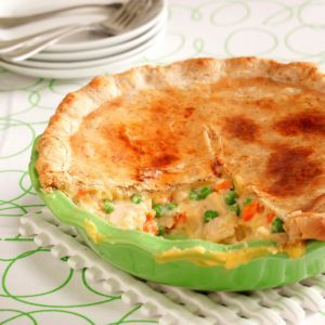 Contest-Winning Turkey Potpie
