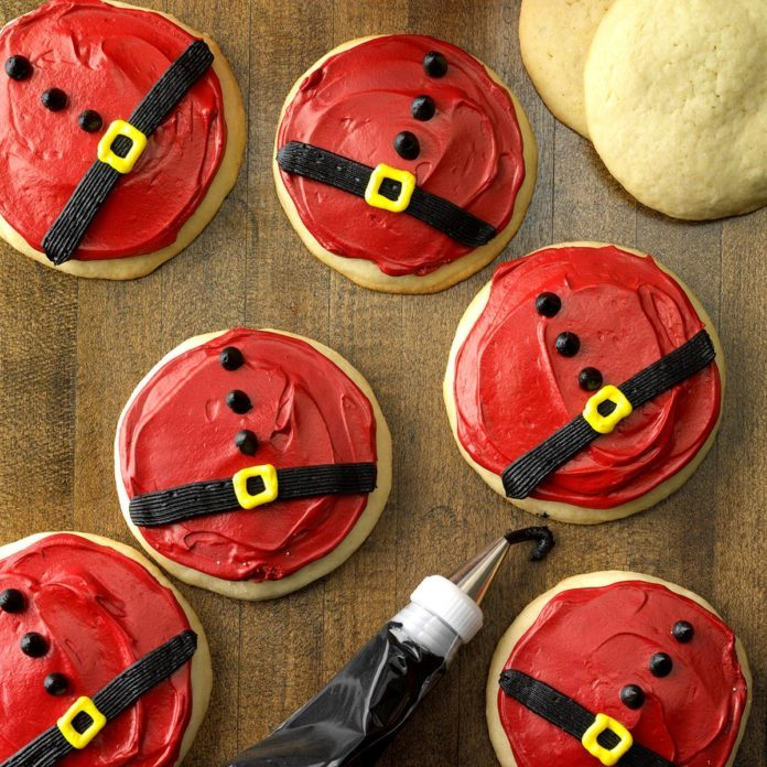 Cookies and Cream Stuffed Santa Bellies
