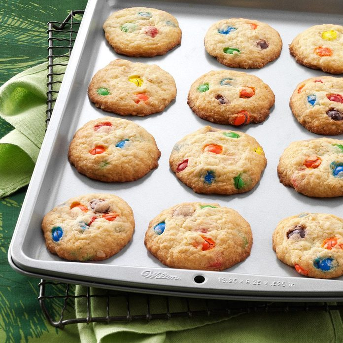 Inspired by: Sugar Butter Cookies with M&Ms