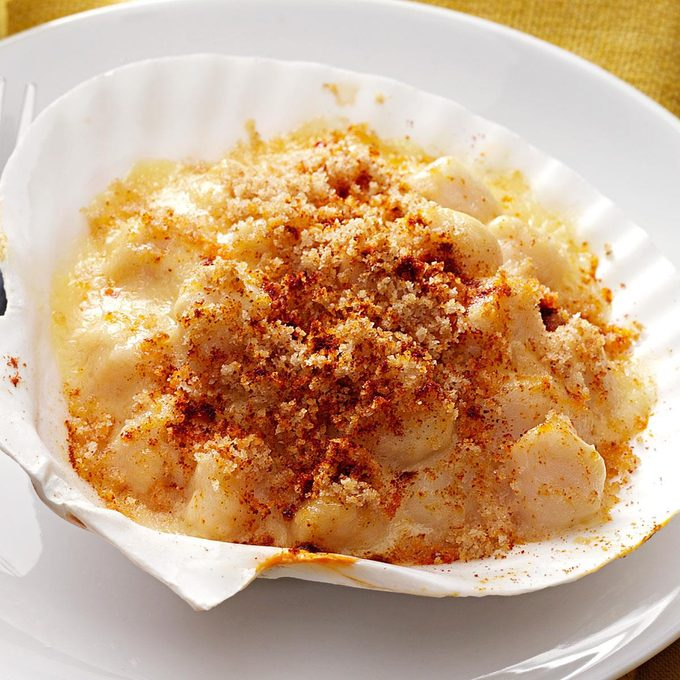 Coquilles St. Jacques for 1