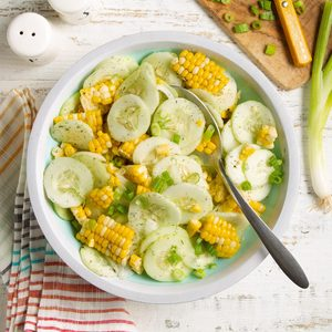 Corn 'n' Cucumbers Salad