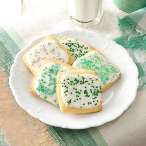 Cornmeal Lime Cookies