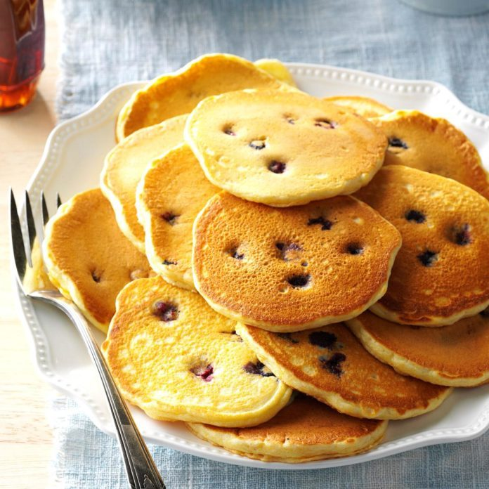 Blueberry Johnnycakes