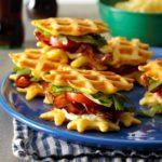 BLT Waffle Sliders