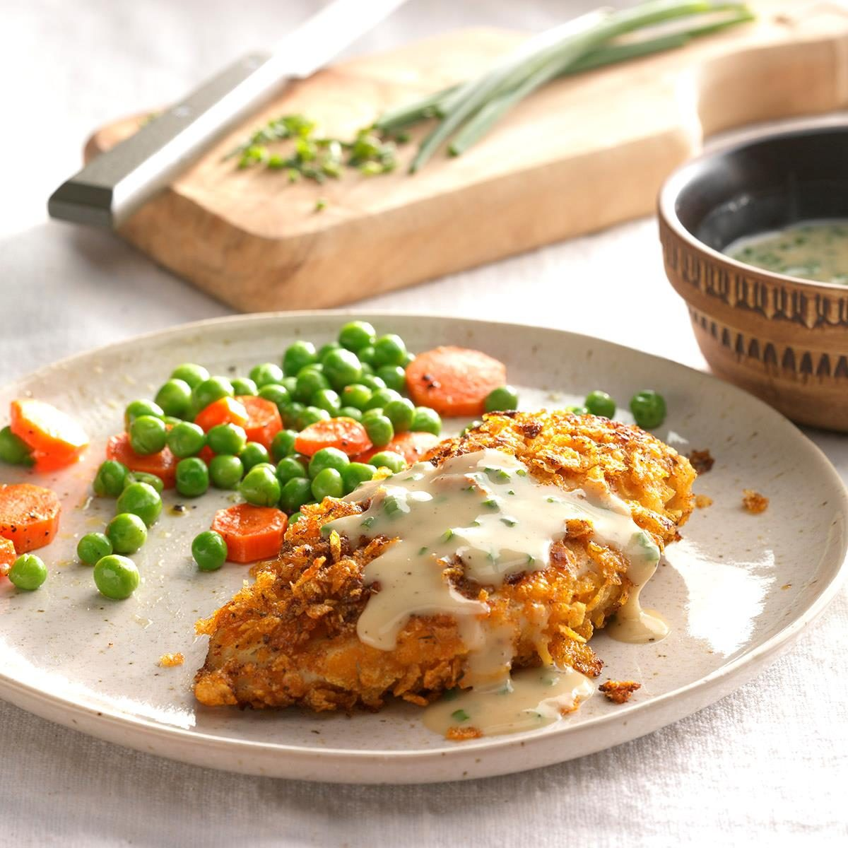 Country Chicken with Gravy