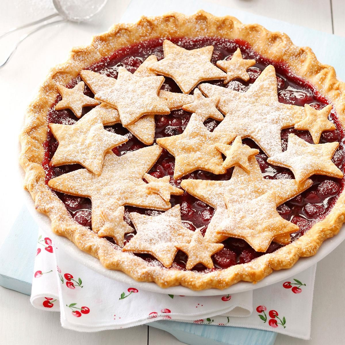 Cherries: County Fair Cherry Pie