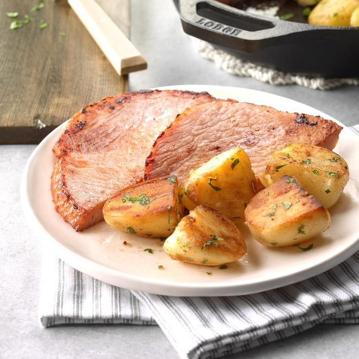Country Ham and Potatoes
