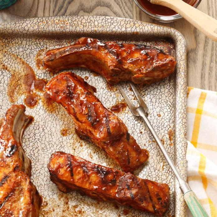 Country-Style Grilled Ribs