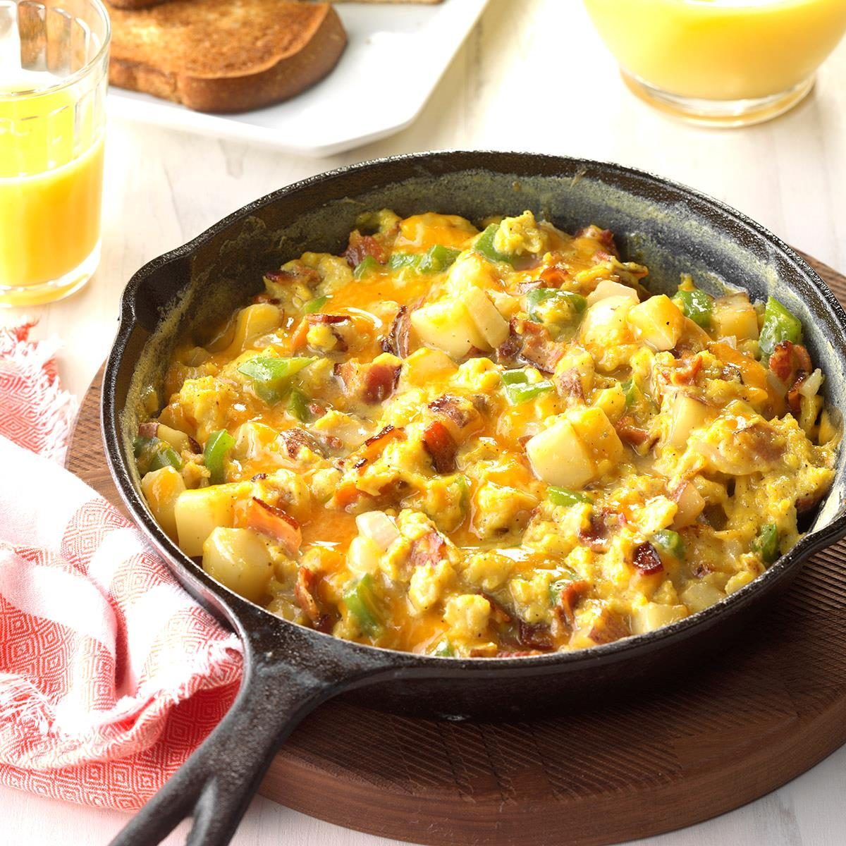Country style scrambled eggs recipe taste of home forumfinder Choice Image