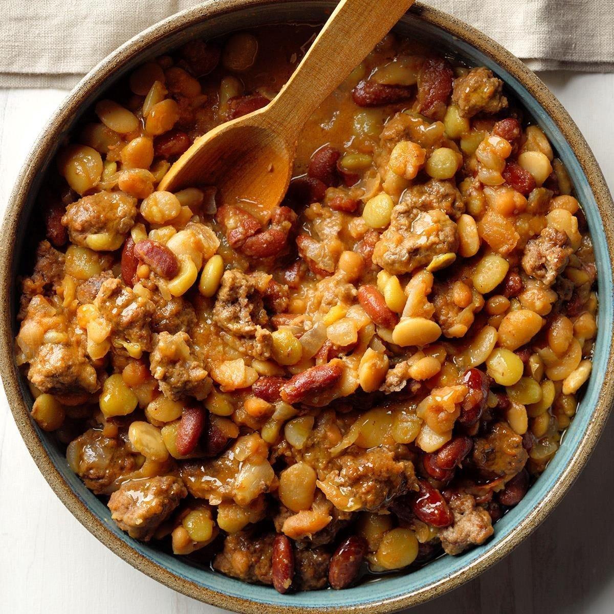 Calico Bean Casserole Recipe