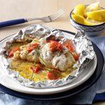 Crab & Shrimp Stuffed Sole