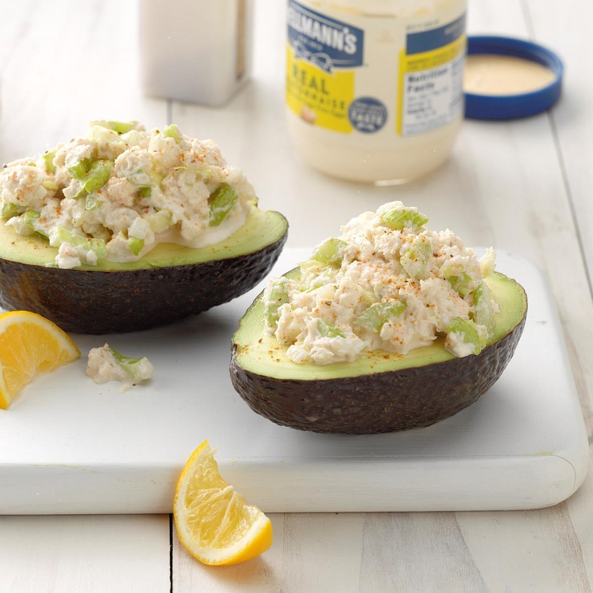 Crab-Stuffed Avocados