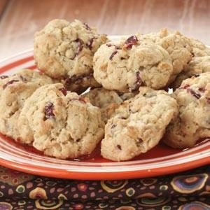 Cran-Orange Oatmeal Cookies