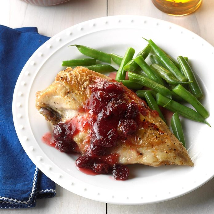 Cranberry Apple Topping