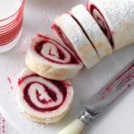 Cranberry Cake Roll