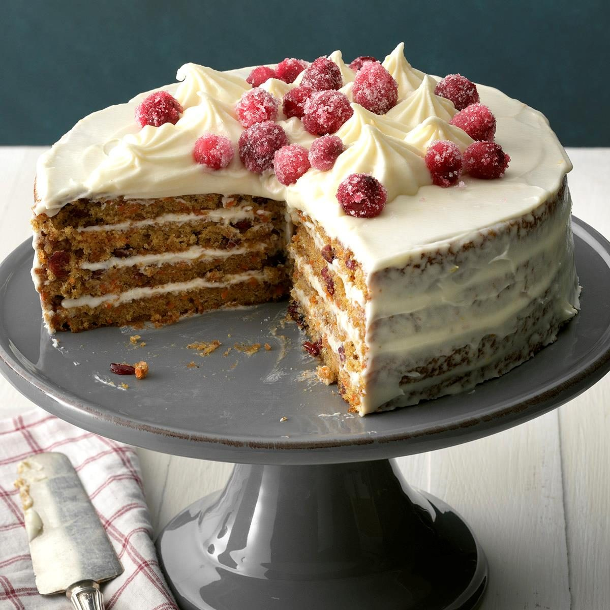 Cranberry-Carrot Layer Cake