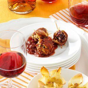 Cranberry Chevre Lollipops