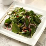 Cranberry-Chipotle Spinach Salad