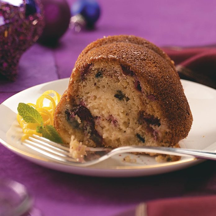 Cranberry Crunch Coffee Cake