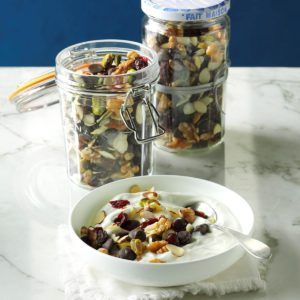 Cranberry Dark Chocolate Trail Mix