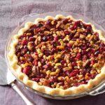 Cranberry Double-Nut Pie
