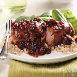 Cranberry-Ginger Pork Ribs
