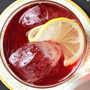 Cranberry-Grape Spritzer