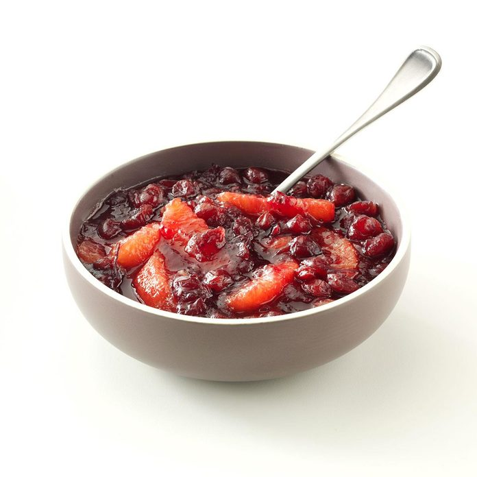 Cranberry Grapefruit Relish