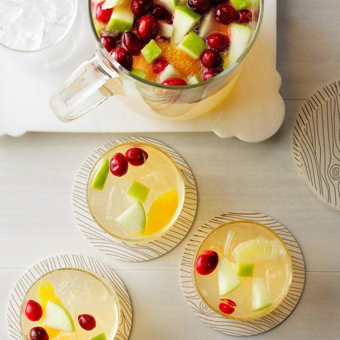 Cranberry-Lime Sangria