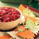 Cranberry-Mango Salsa with Tree Chips