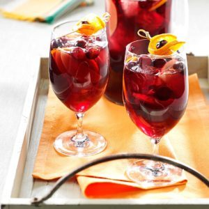 Cranberry-Orange Sangria