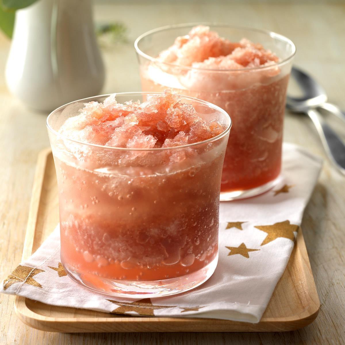 Cranberry-Orange Vodka Slush