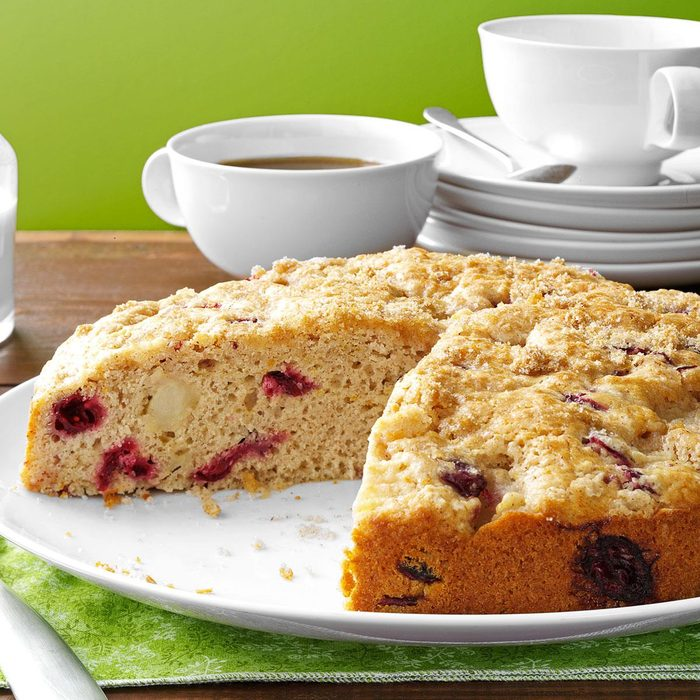 Cranberry-Pear Coffee Cake