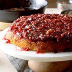Cranberry Pecan Upside-Down Cake