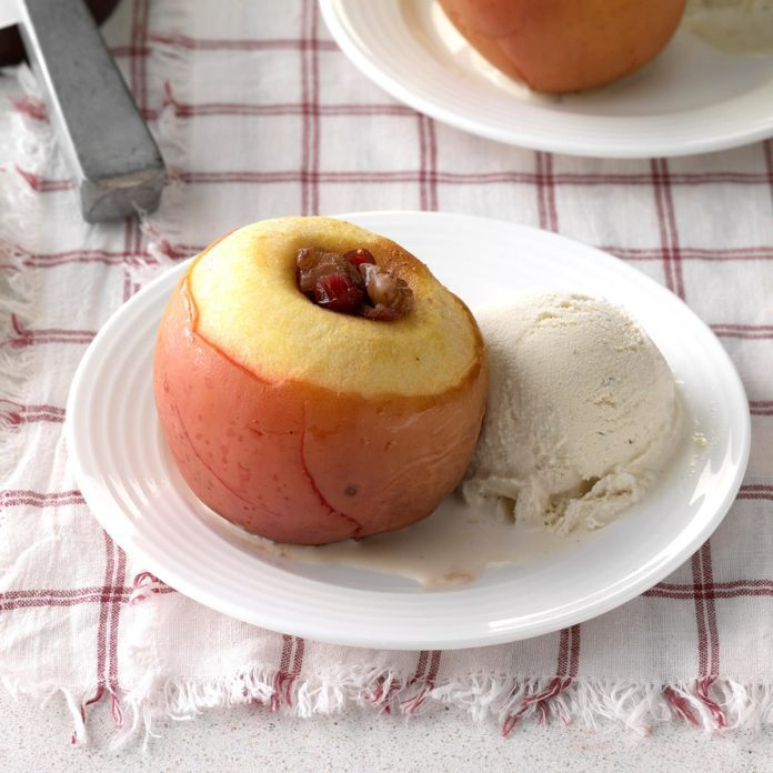 Cranberry Stuffed Apples