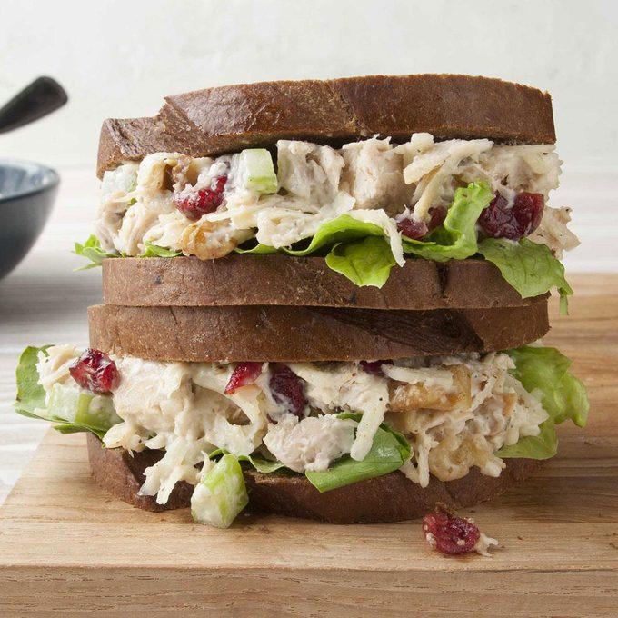 Cranberry Walnut Chicken Salad Sandwiches Exps Ft19 39310 Set F06 05  1 5