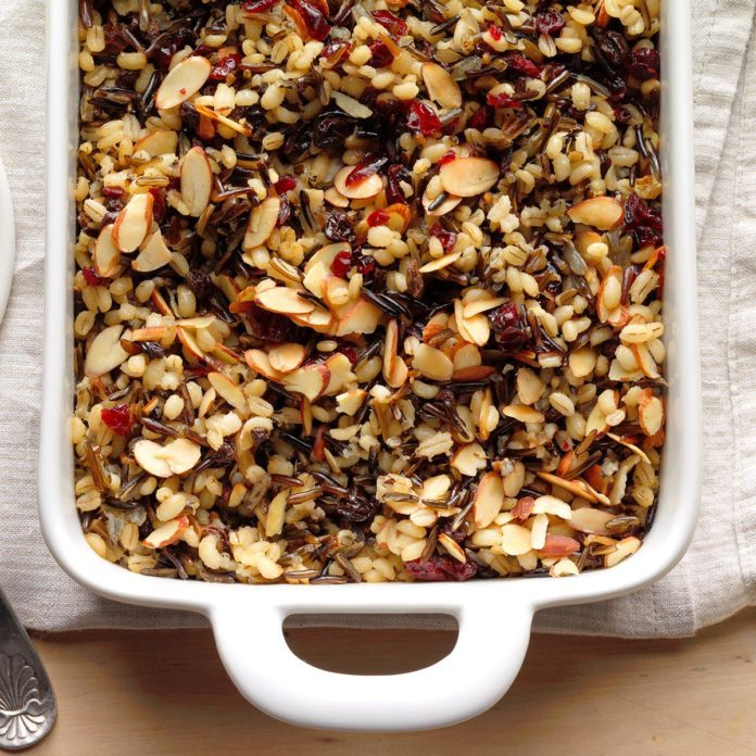 Cranberry Wild Rice Pilaf