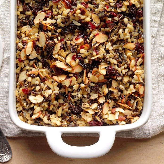 Cranberry Wild Rice Pilaf