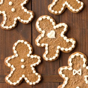 Cream Cheese Frosted Gingerbread Men