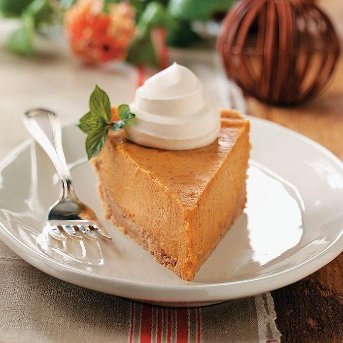 Cream Cheese Pumpkin Pie
