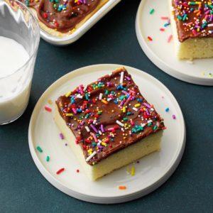 Cream Cheese Sheet Cake
