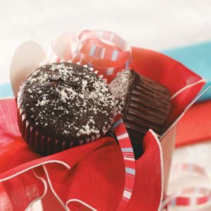Cream-Filled Chocolate Supreme Muffins
