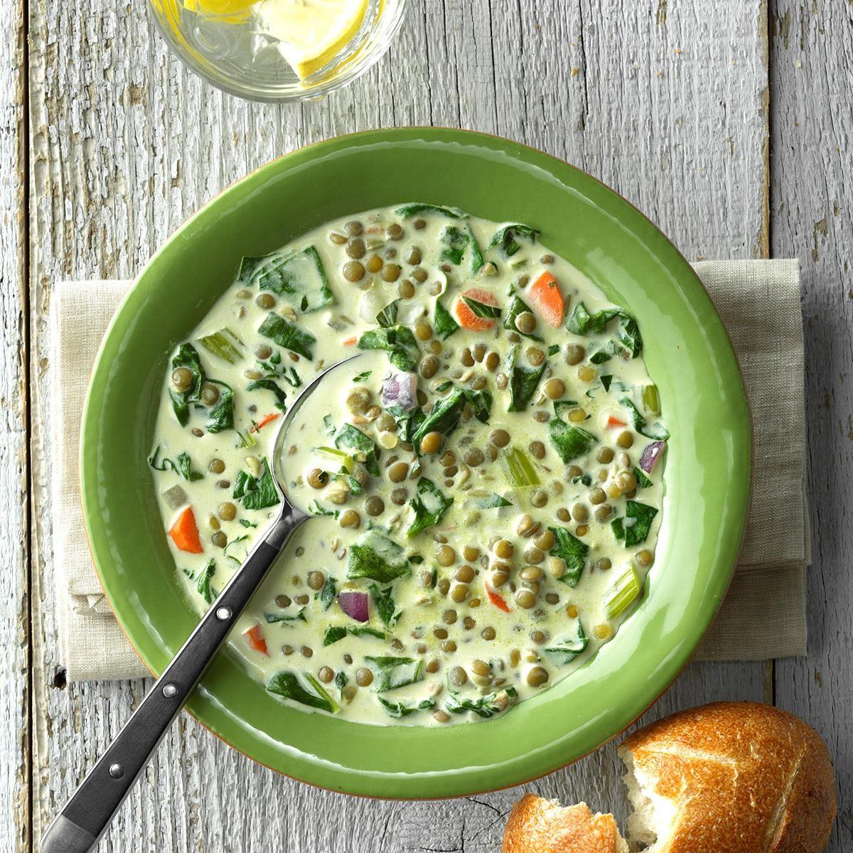 Cream of Lentil Soup
