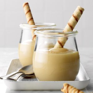 Creamy Butterscotch Pudding for 2