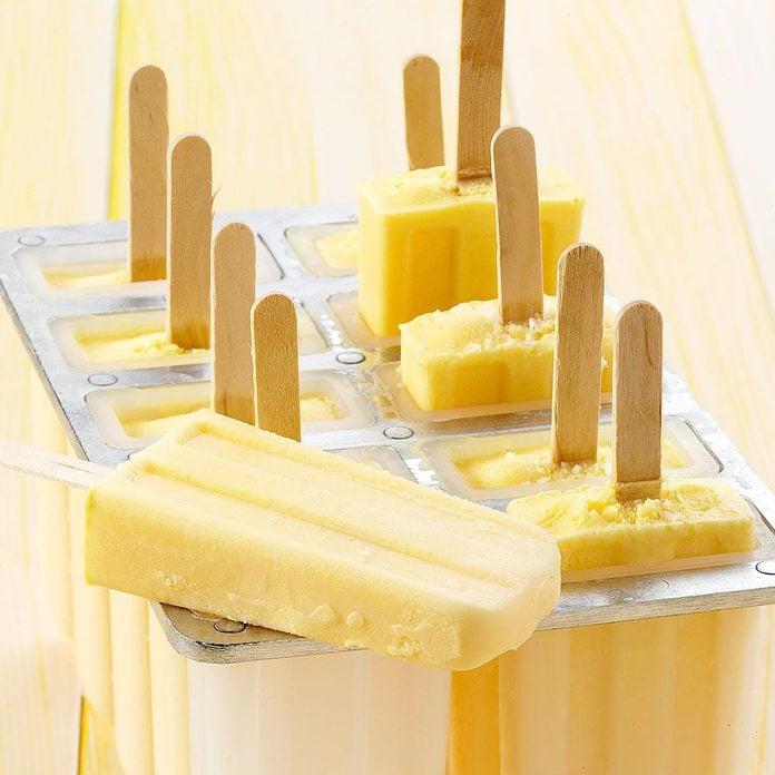Creamy Cantaloupe Pops