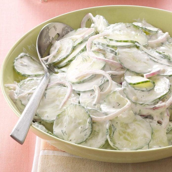 Creamy Dilled Cucumber Salad Exps165788 Th2847293c12 13 3b 4